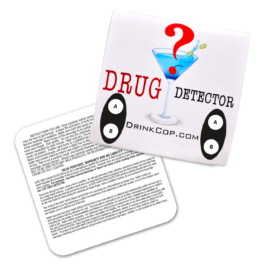 Drug Detector Coaster 2 Tests Per Coaster